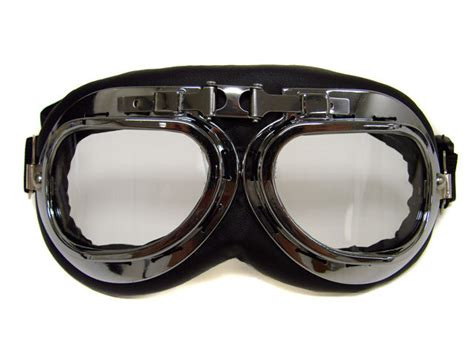 vintage motocross goggles helmet steunk chrome motorcycle flying goggles vintage