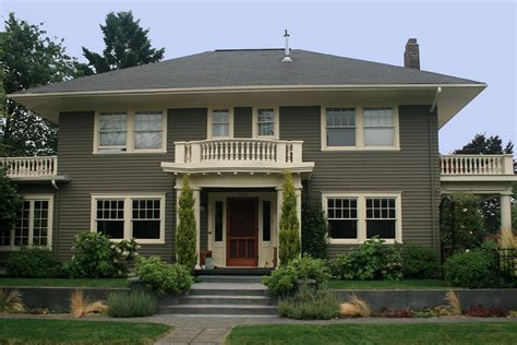color house ext colonial colors interest green exterior house paint