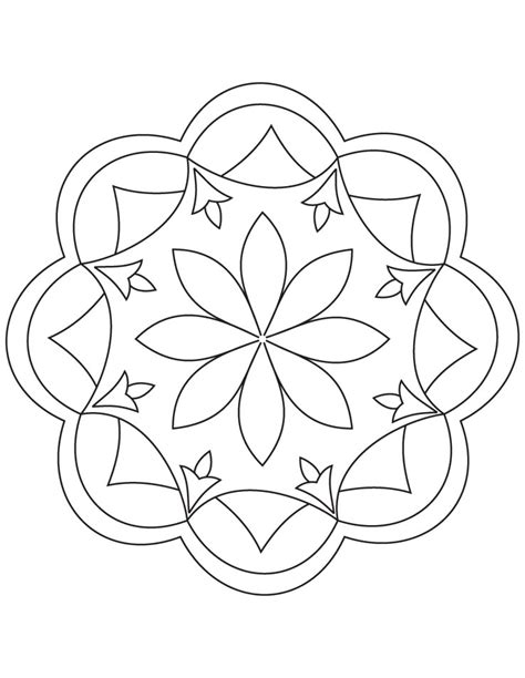 rangoli coloring pages printable rangoli coloring pages to download and print for free