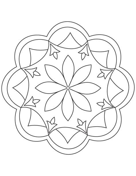 rangoli patterns coloring pages rangoli patterns coloring pages