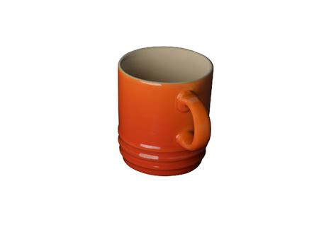 espresso kopje rood le creuset espressokopje oranjerood 7cl kopen cookinglife