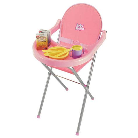 Baby Doll High Chair by Dolls High Chair Baby Huggles Casdon Toys