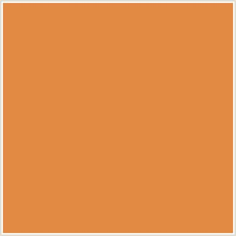 siena color e18942 hex color rgb 225 137 66 burnt sienna