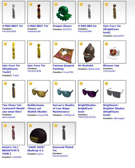 roblox catalog image gallery roblox catalog