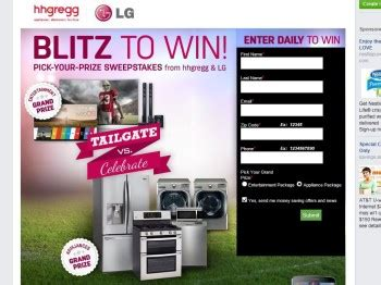 Hhgregg Sweepstakes - hhgregg blitz to win sweepstakes sweepstakes fanatics