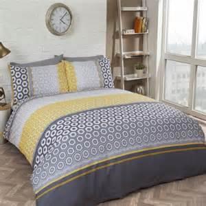 Yellow Bedding Sets Uk Barbican Yellow Duvet Cover Set Tonys Textiles