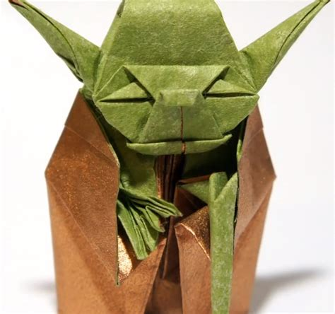 Simple Origami Yoda - origami yoda 88 awesome diy stuffers popsugar