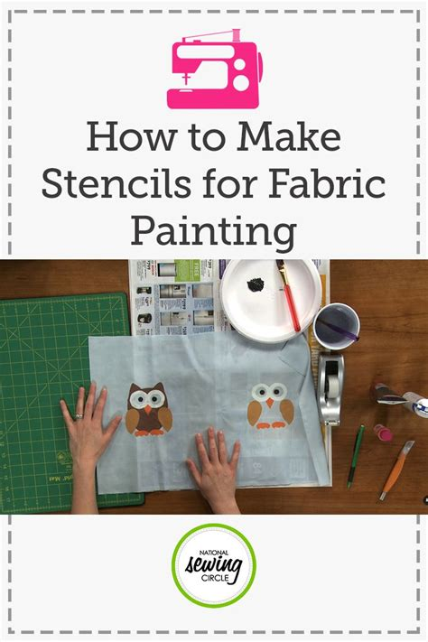 Best Paper To Make Stencils - 25 best fabric painting ideas on diy pillows