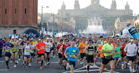 barcelona half marathon barcelona marathon 2016 events and guide barcelona