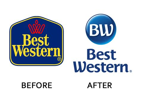 best western company corporate logo changes business insider
