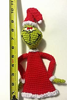 the grinch tree topper ravelry the grinch tree topper pattern by bateman