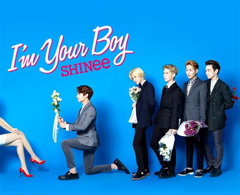 Shinee Im Your Boy Limited Edition Type B 14 08 12 shinee to release their third japanese album i m