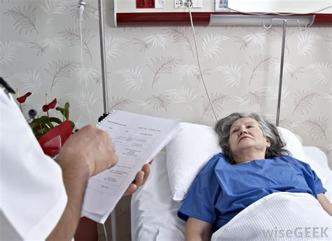 person in hospital bed what are the different types of nurses with pictures