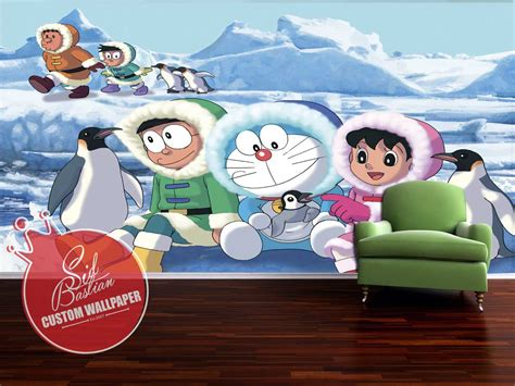 wallpaper dinding kamar doraemon wallpaper dinding
