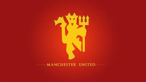 manchester united manchester united fc football logo hd wallpaper of