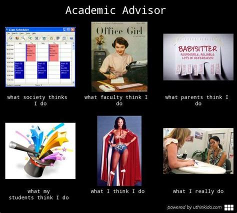 of academic advisor academic advisor what think i do what i really do