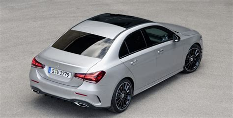 2019 Mercedes A Class Usa by 2019 Mercedes A Class Sedan Revealed For Us Only Now
