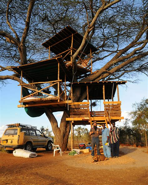 IEF R&D   Kenyan Tree House/Remote Solar