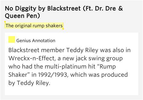 wreckx n effect new jack swing lyrics the original rump shakers no diggity by blackstreet