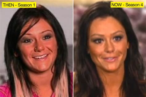 jenni jwoww before and after plastic surgery breast jwoww more plastic surgery hollywood life