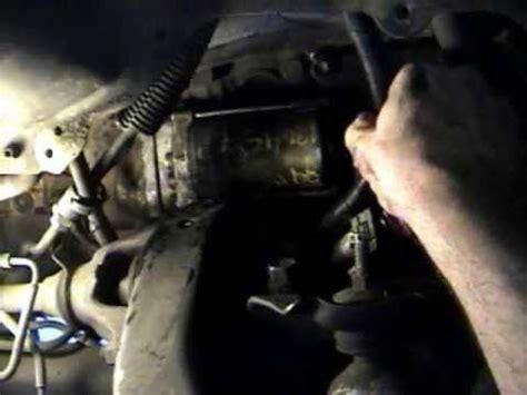 toyota 4 runner starter motor how to replace / install