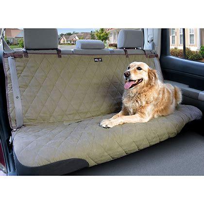 solvit deluxe bench seat cover solvit sta put deluxe dog seat cover 1800petmeds