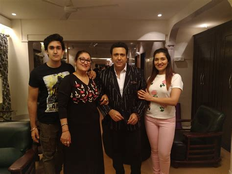 actor govinda latest news latest family photo of govinda bollyquick