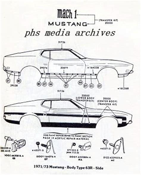1972 mustang body diagram wiring diagram