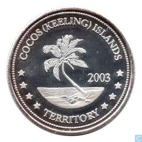 10 Dollar Silver Coin 2003 - cocos keeling islands 10 dollars 2003 silver