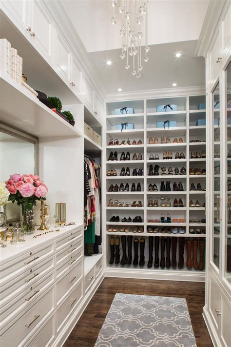 Walk In Wardrobe Storage by Closet Decorating And Design Ideas With Pictures Hgtv