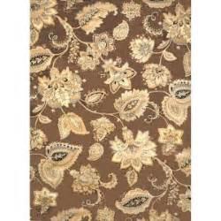 bazaar rugs at home depot home dynamix bazaar tiara floral brown 5 ft 2 in x 7 ft 2 in indoor area rug 2 1155m 500