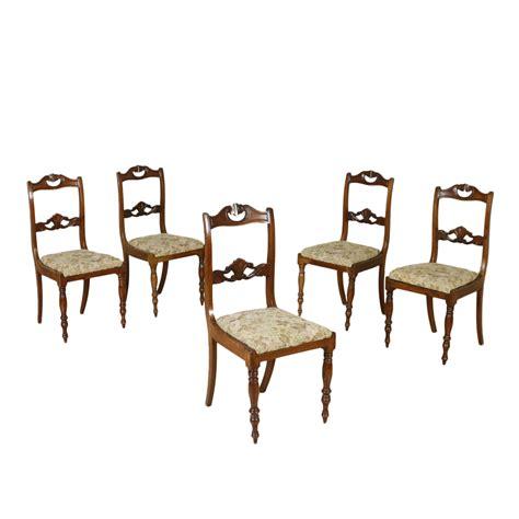 sedia inglese gruppo di cinque sedie inglesi sedie poltrone divani