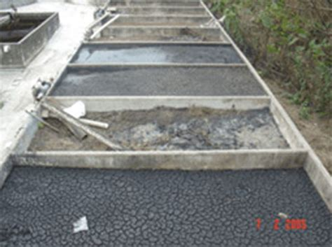 design criteria for sludge drying beds welcome to water bird l l c