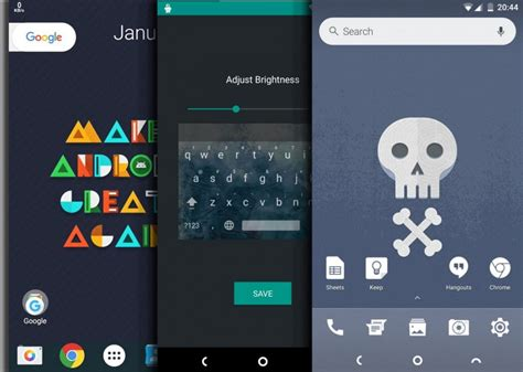 home themes for android home screen customization tips for android droidviews