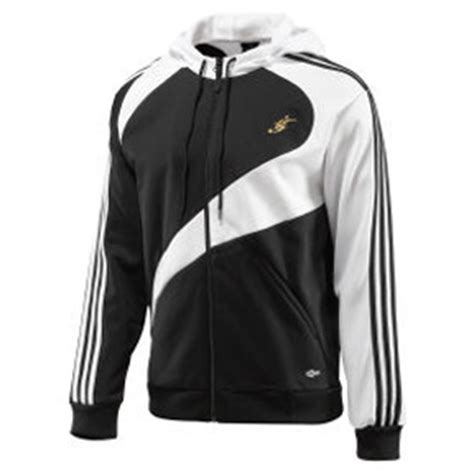 Jaket Adidas Stripe Sing Big Size adidas david beckham predator jacket black white soccerevolution