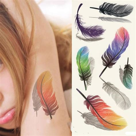 small body tattoos 1000 ideas about small feather tattoos on