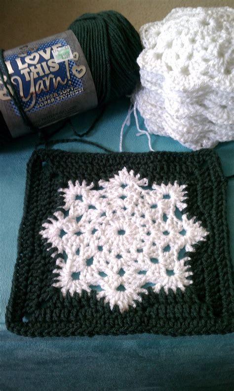 crochet pattern snowflake afghan snowflake granny square afghan pattern knit crochet