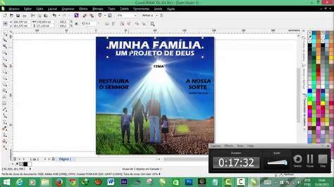 como fazer layout de banner como fazer arte para banner no coreldraw b youtube