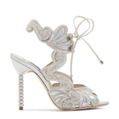 Wedding Shoes Houston by 6 High Heeled High Drama Wedding Shoes For Stylish Brides