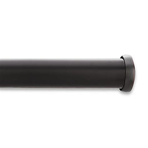 kirsch curtain rod buy kirsch black curtain rod from bed bath beyond