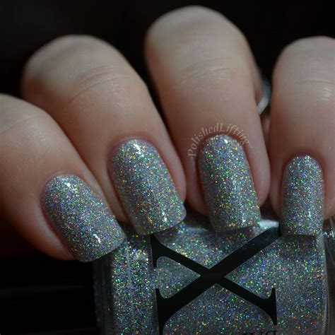 Glitter Nail Polishes by Silver Nail With Glitter