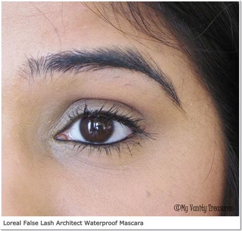 Loreal Lash Architect Waterproof Mascara Expert Review by L Oreal False Lash Architect 4d Waterproof Mascara