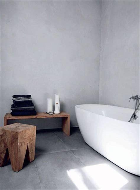 badkamer hout en betonlook trend betonlook stripesandwalls nl