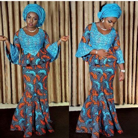skirt and blouse style with cord lace latest ankara skirt and blouse styles fabwoman