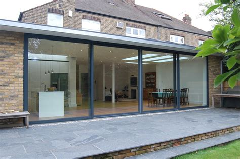 Patio Kitchen Ideas by Full Width Rear Extension Kate Stoddart Architect