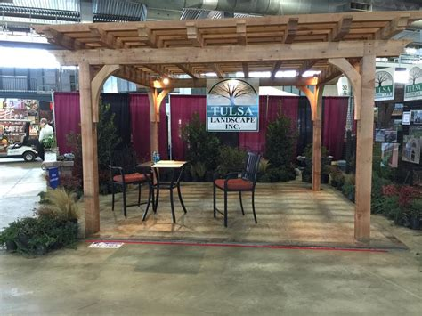 Tulsa Home And Garden Show by Tulsa Landscape Arbors Arbors