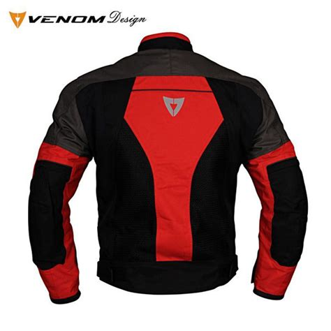 venom dynamic fileli siyah kirmizi xs