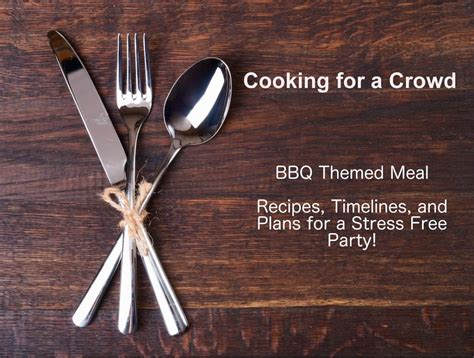 cooking for a crowd menus recipes and book by susan wyler cooking for a crowd bbq themed menu and timeline super