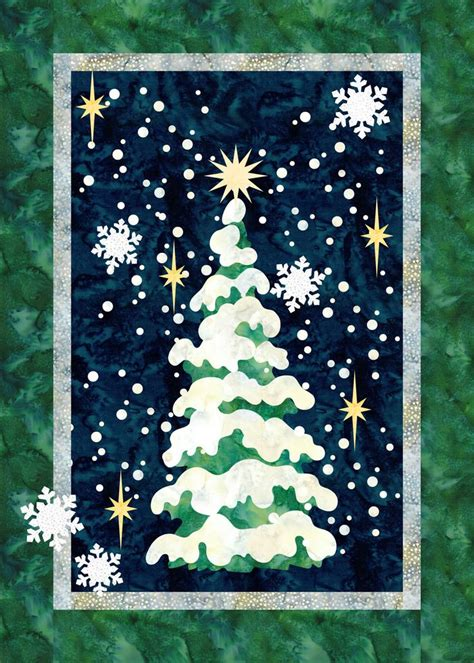 christmas tree christmas applique christmas tree quilt diy christmas cards