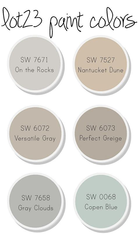 sherwin williams interior paint colors interior paint color and color palette ideas with pictures home bunch interior design ideas